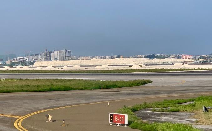 beach sand airport