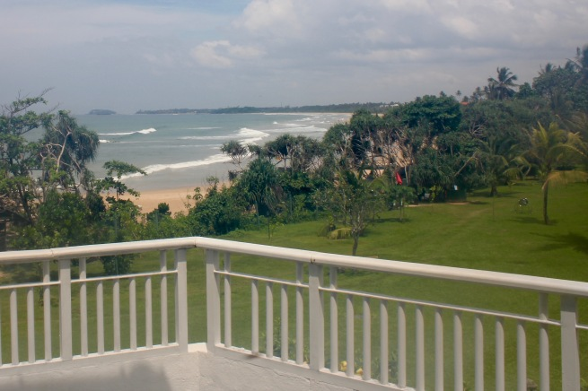 From our room